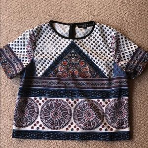 Top shop crop top size US 6 (like new)